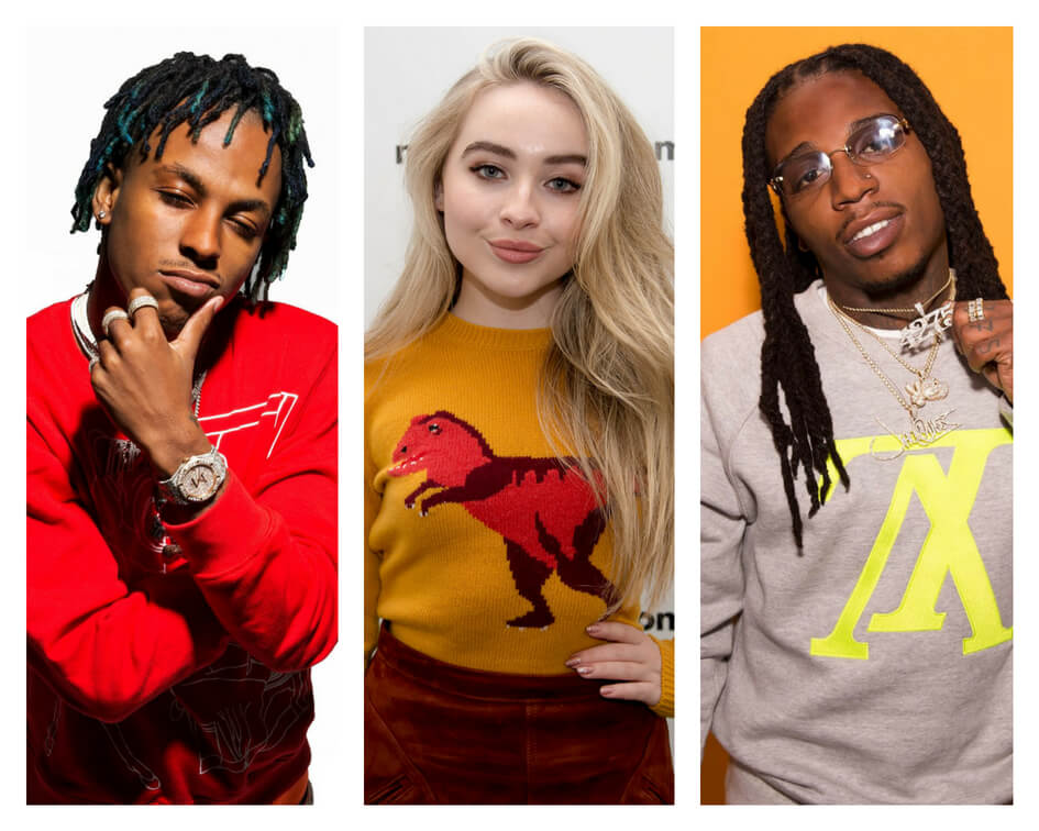 Rich The Kid Sabrina Carpenter Jacquees
