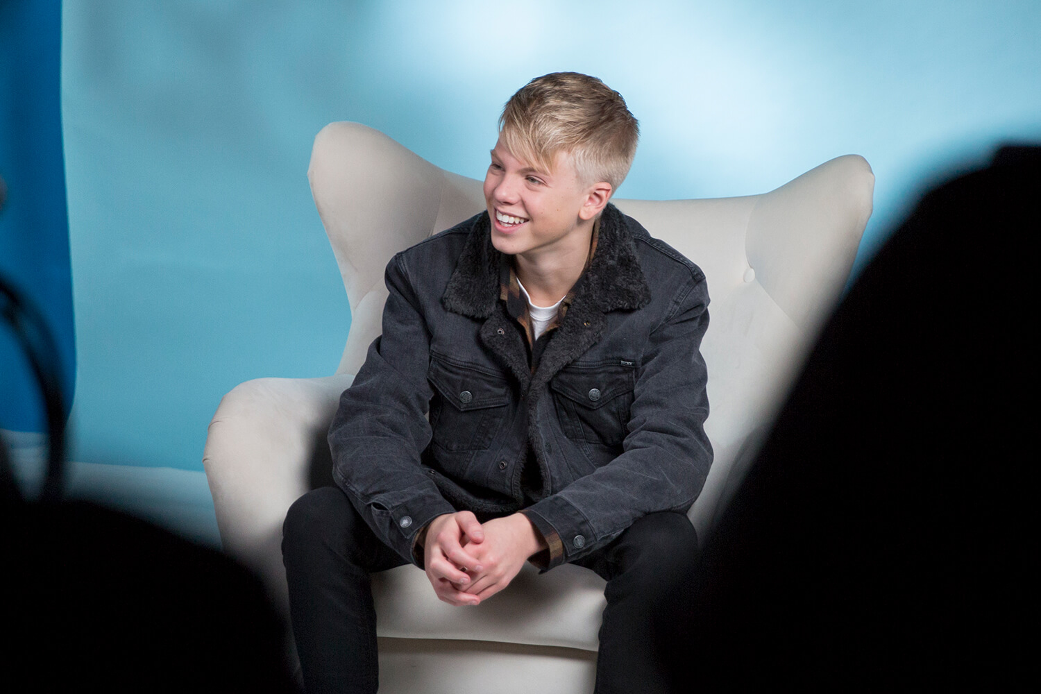 carson lueders at music choice