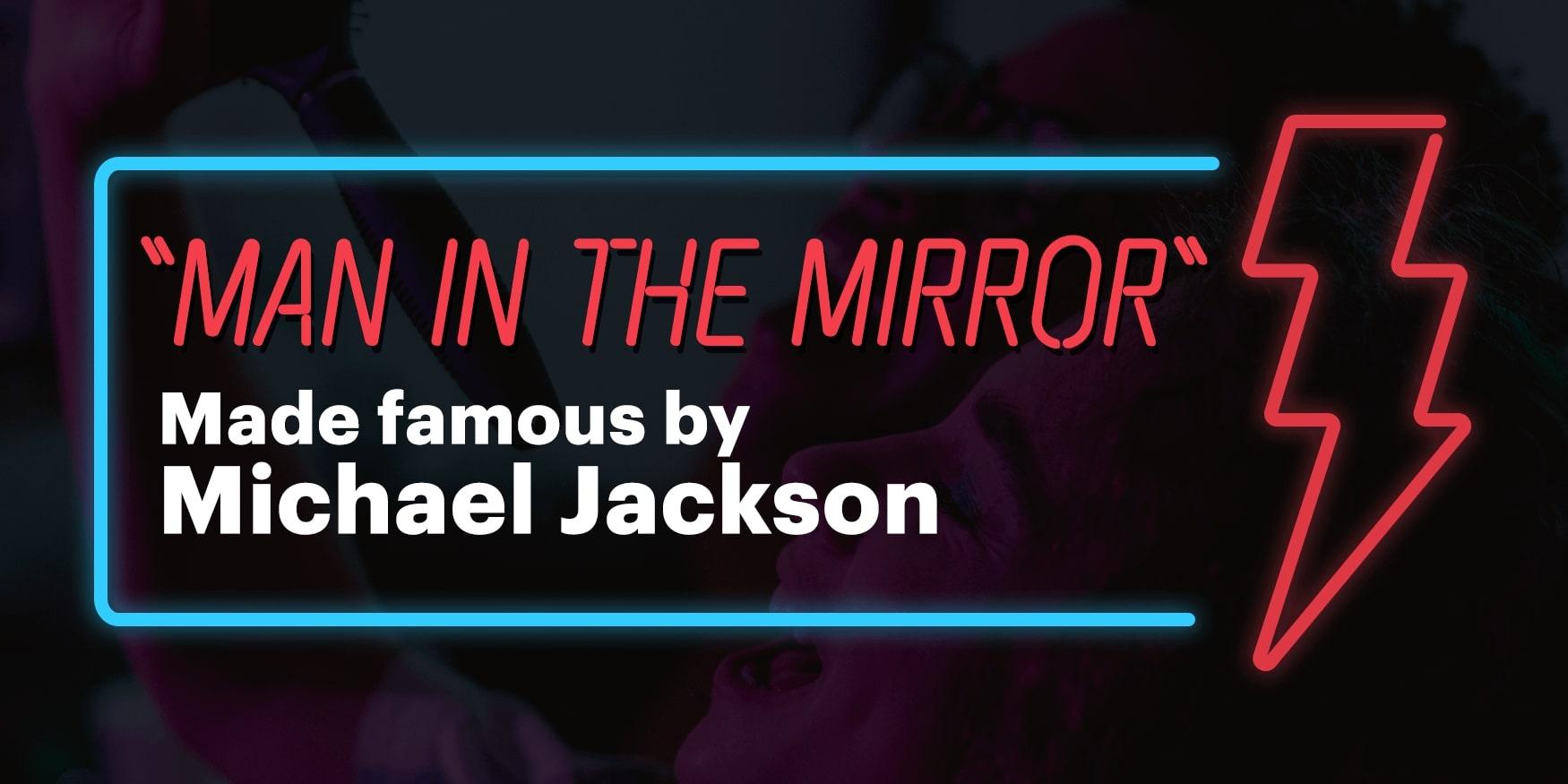 Michael Jackson - Man in the Miirror_