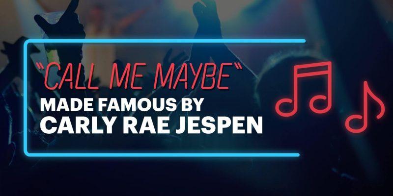 Carly Rae Jaspen - Call Me Maybe